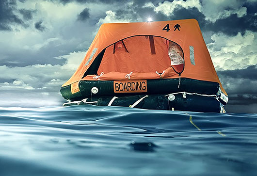 Service of Inflatable Liferaft, Liferaft Rental, Liferaft Exchange